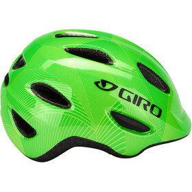 Giro Scamp Casque Enfant, green/lime lines